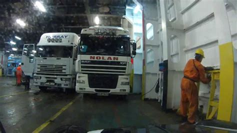 Boarding Ferry from Ireland (Rosslare) to France