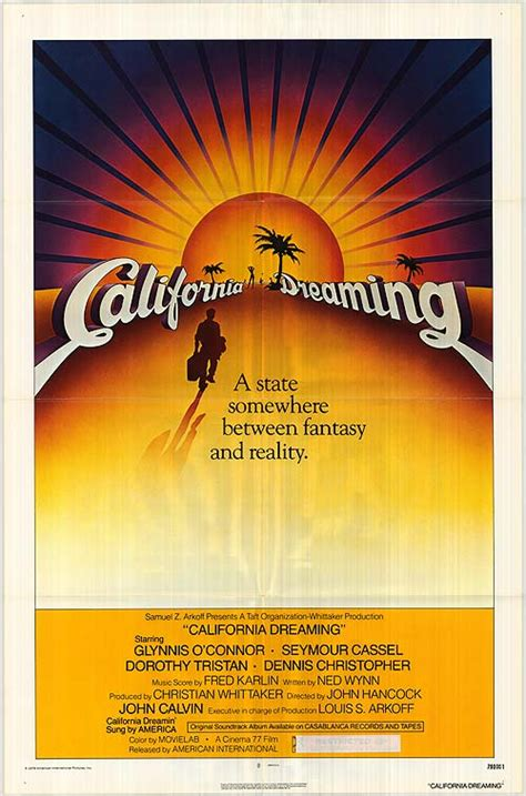 California Dreaming movie posters at movie poster