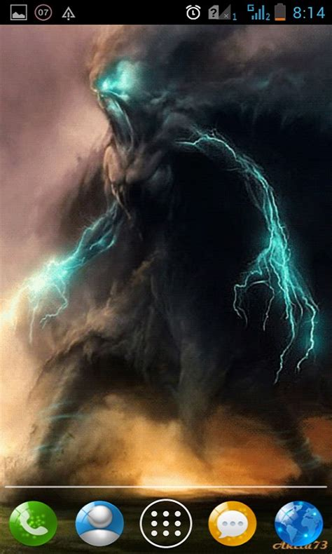 Tornado Demons Live Wallpaper Android App - Free APK by