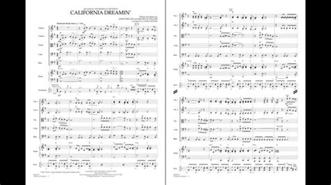 California Dreamin' arranged by Larry Moore - YouTube