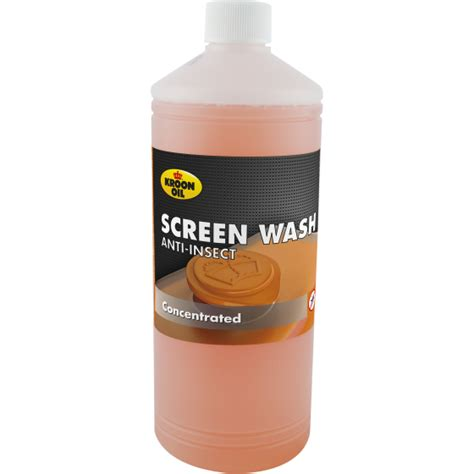 Screen Wash Anti-Insect productinformatie