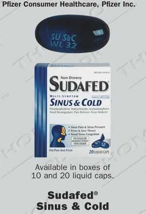 Sudafed Sinus & Cold Liquid Caps Information from Drugs