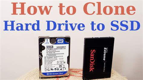 How to Clone HDD to SSD - YouTube