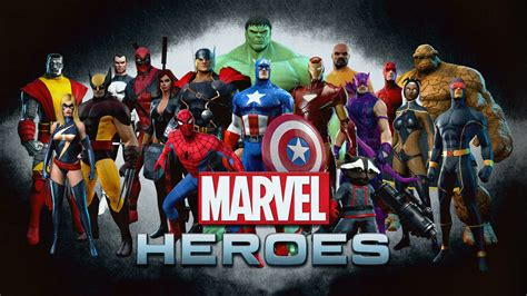 Marvel Heroes Wallpaper and Hintergrund | 1600x900 | ID