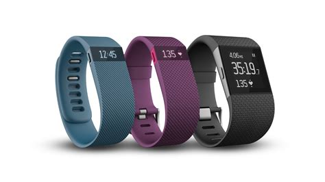 Fitbit finally reveals Charge, Charge HR and Surge
