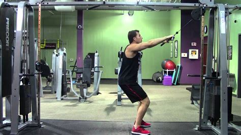 Straight Arm Pulldown - HASfit Lat Exercise Demonstration
