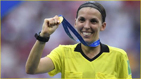 Stephanie Frappart to become first female referee to