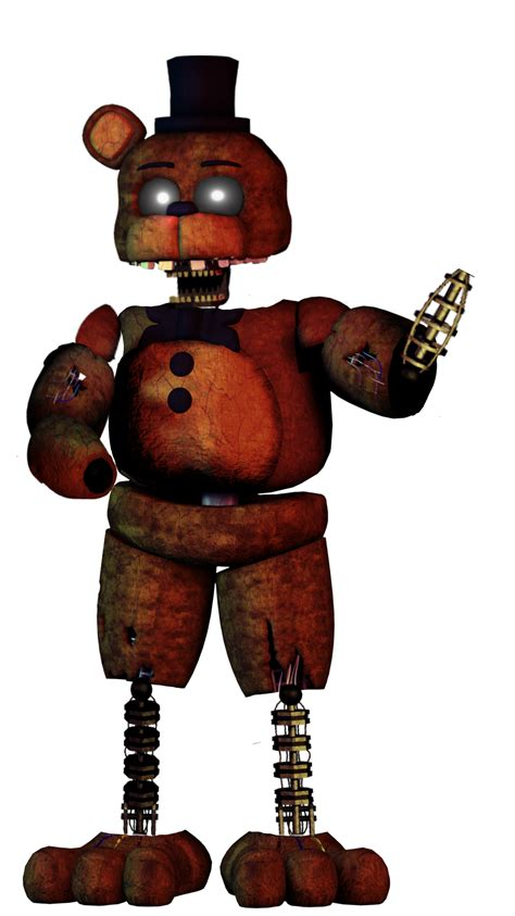 ignited freddy - Image by Turles White