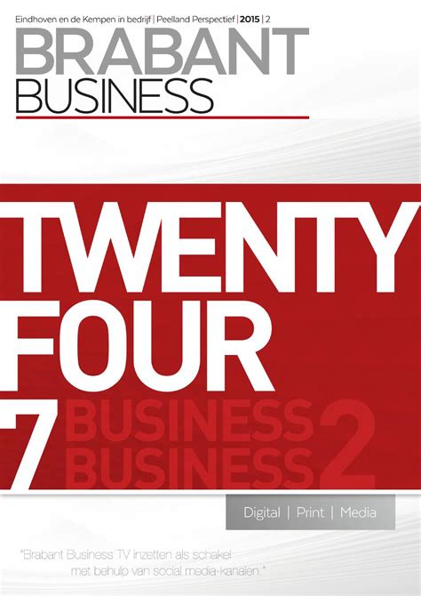 Brabant business 2015 augustus by Intergraphic - Issuu