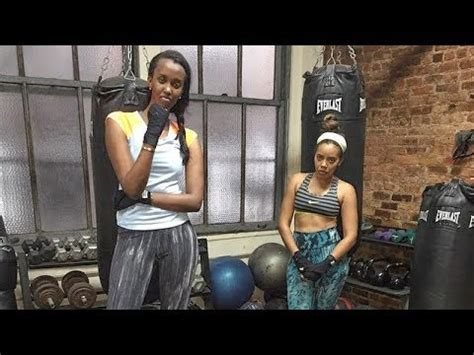 ANGE Kagame Work Out - YouTube