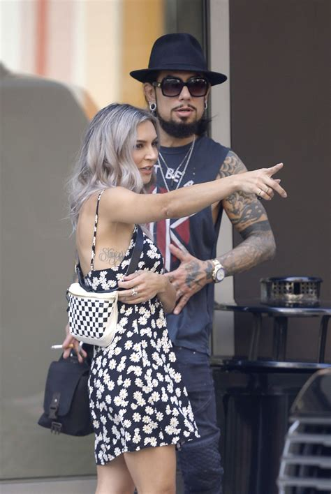 SAMIRE ARMSTRONG and Dave Navarro Out in New York 08/15