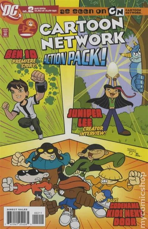 Cartoon Network Action Pack (2006) comic books