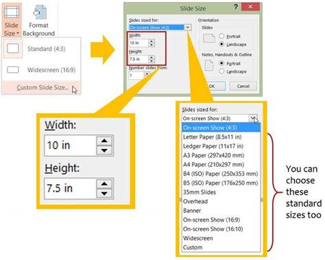 How To Customize PowerPoint Slide Size For Your Design Project