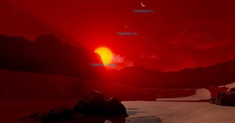 Explore the Surface - TRAPPIST-1d   Exoplanet Travel