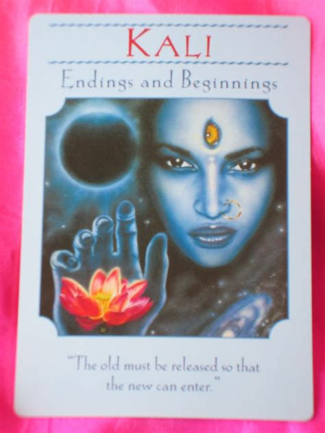 Goddess Guidance Oracle Card for Tuesday ~ Kali | Daily