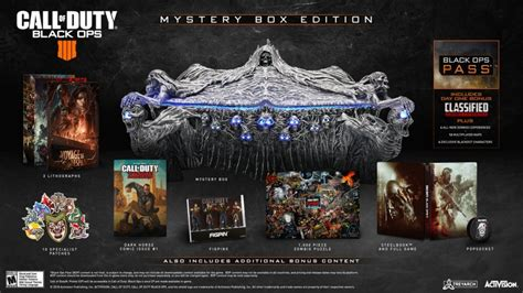Call of Duty Black Ops 4 Mystery Box Edition (PlayStation