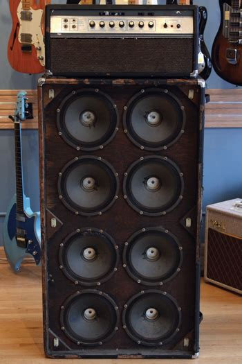 1969 Ampeg SVT Head and 8x10 Cabinet