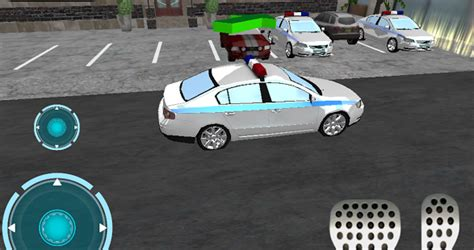 Ultra 3D police Car parking » Android Games 365 - Free