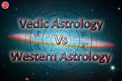 Vedic Astrology Vs Western Astrology: A Direct Comparison