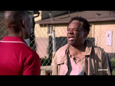 John Witherspoon's Memorial Draws Ice Cube, David