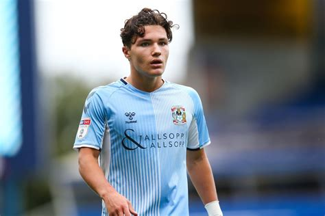 Callum O'Hare is making steady progress at Coventry City