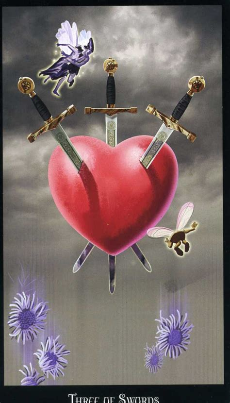 Lessons from negative cards: 5 of cups and 3 of swords