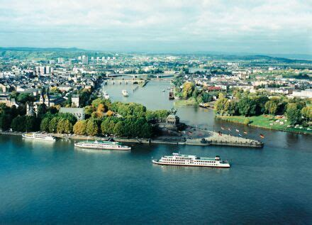 Koblenz - gate to the Unesco Upper Middle Rhine Valley