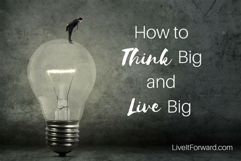 LIF 059 — How to Think Big and Live Big