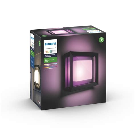 Wandlamp Philips Hue White and Color ambiance Econic