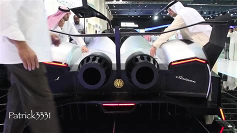 Devel Sixteen with 5000 hp and 560 km/h top speed