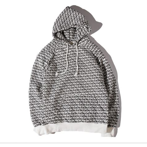 Fear of God FOG All Over Pouch Hoodie (White)