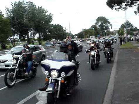 Ride With The Angels By Hells Angels Nomads NZ - YouTube