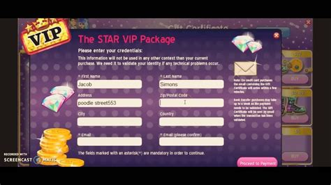 how to get a FREE gift certificate!! on MOVIESTARPLANET