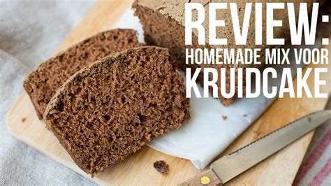 REVIEW: Homemade mix voor Kruidcake   OhMyFoodness - YouTube