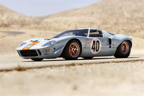 Ford GT40 Gulf/Mirage Used by Steve McQueen Fetches Record