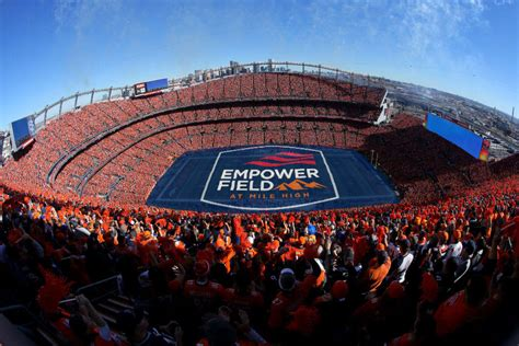 Denver Broncos to sell the naming rights for Mile High